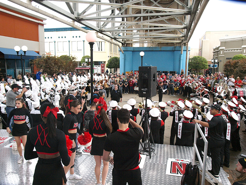 A Look Back: Parade and Pep Rally