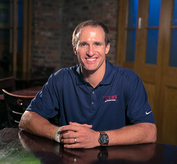Drew Brees to Speak at Walk-On's Independence Bowl Kickoff Dinner