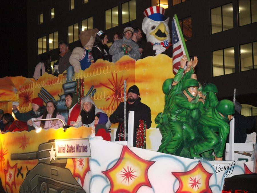 Mardi Gras Preview Parade Comes to Bowl Week on December 26