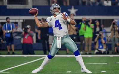 Cowboys' Star Dak Prescott Named Sportsperson of the Year